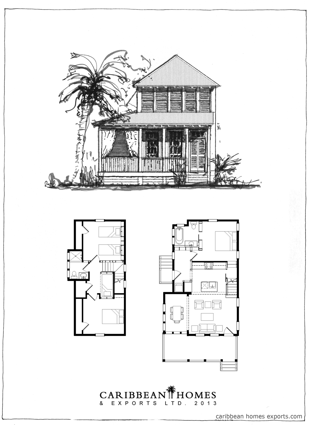 Caribbean homes and exports houses for Caribbean home plans